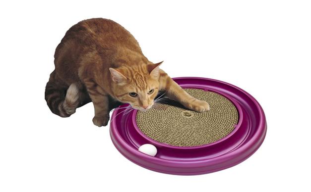 猫のおもちゃ(ターボスクラッチャー)