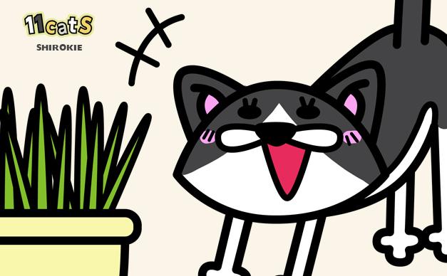 猫が『猫草』を食べる3つの理由