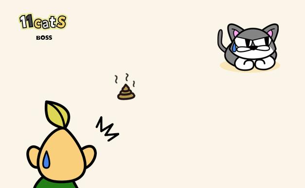 猫のイラスト2(11Cats ボス)