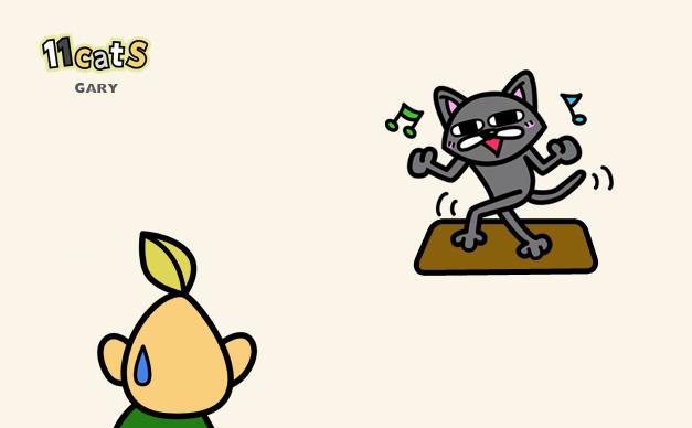 猫のイラスト(11Cats )