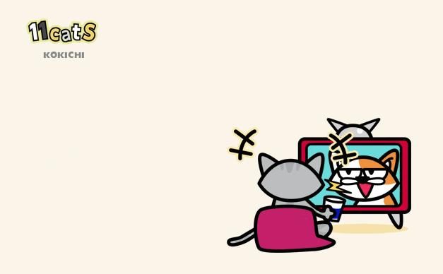 猫のイラスト2(11Cats コキチ)